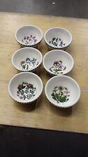 "Portmeirion Botanic Garden 5"" fruit/Rice bowls set of 6"