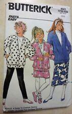 4521 Butterick Pattern Girls Outfit Sewing Pattern 12