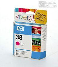 HP 38 Magenta Ink Cartridge Vivera For B9180 & B8850 Printers P/N C9416A *NEW*