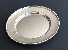 Set of 9 G. H. French & Co. Sterling Silver Bread Plates (1920s), No Monogram