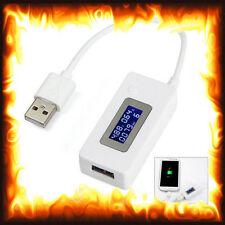 Mini LCD USB cargador de energía móvil Detector de Voltaje de Corriente Tester Digital Medidor