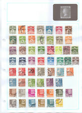DENMARK Album page of Used Stamps (MD103)