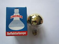 LINDNER lámpara globo G80 E27 parte reflectante ORO 40W ø 80mm Bombilla