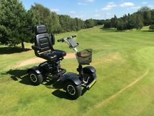 SINGLE SEAT GOLF BUGGY ELECTRIC BLACK 2018 MODEL NEW