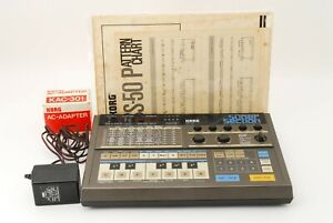 KORG PSS-50 Super Section 80's Programmable Portable Drum Machine A7650