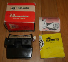 SAWYER'S VIEWMASTER LIGHTED VIEWER ORIGINAL 1950's MODEL F RARE & BOXED    (962)