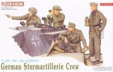 Dragon 1/35 German Sturmartillerie Crew Figure Set 6029