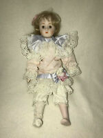 """THE HERITAGE MINT COLLECTION PORCELAIN DOLL, 16"""""""