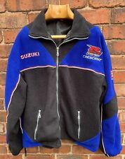 Suzuki Crescent Motorcycle Racing Fleece GSX factory squad XL Ex Large yoshimura
