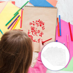 10pcs Lightweight  Reusable Painting Templates  Drawing Stencils for Children