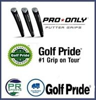 New Genuine Golf Pride Pro Only Putter Grip Selection Green Star Blue Star Red