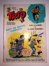 TRIO N° 15 ( 136 ) le journal les des pieds nickeles bibi fricotin MACCHUS 1977