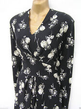 Jersey Long Sleeve Plus Size Casual Dresses for Women