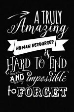 Human Resources Gift: 6x9 Notebook, Ruled, 110 Pages, to Show Appreciation ...
