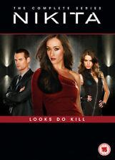 Nikita Seasons 1 to 4 Complete Collection DVD NEW dvd (1000504279)