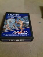 INFILTRATE by APOLLO GAMES for ATARI 2600  ▪︎ CARTRIDGE ▪︎ FREE SHIPPING ▪︎