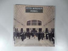 Otto Wagner mobel. 17 juli - 20 september 1991, design, secessione