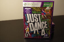 Just Dance 4 (Microsoft Xbox 360, 2012) New / Factory Sealed