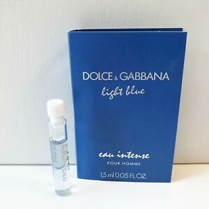 Dolce & Gabbana Light Blue Pour Homme Eau de Parfum Intense mini Spray, 1.5ml