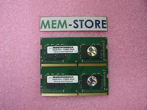 32GB (2x16GB) DDR4-2133 PC4-17000S SODIMM Memory Dell Latitude 14 7000 E7470