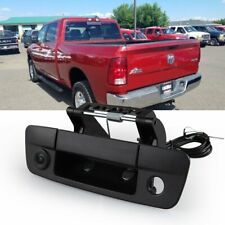 Fit for Dodge Ram 1500 2500 3500 Series Tailgate Handle Backup Rear View Camera