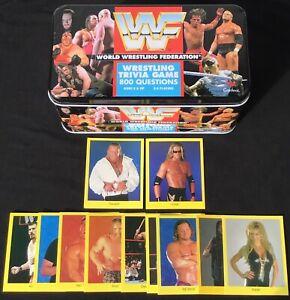 (10) WWF Trivia Lot + 1998 WWF Trivia EDGE Rookie Card + GANGREL Rookie Combo RC