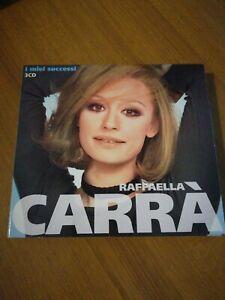 Raffaella Carrà I Miei Successi BOX 3CD BEST OF COLLECTION OF CLASSICS