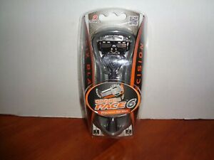 Dorco Pace 6 Razor Handle For Men With 6 Precision Blades With 2 Cartridges