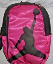 NIKE Air Jordan Illusion Hybrid GYM BAG IN Hyper Pink Power Black Logo NEW