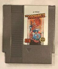 THE GOONIES II (1987) Video Game NES NINTENDO