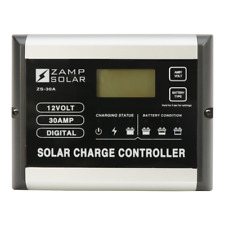 Zamp Solar 30 Amp Solar Charge Controller (Up to 510 Watt Input)