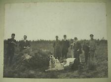Fotografía militar doppelganger de José Stalin? demostración de tiro el cañón