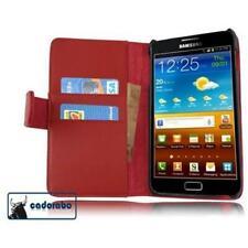 Cadorabo! Für Samsung Galaxy Note N7000 Tasche Case Schutzhülle Flip  Hülle rot