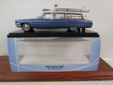 NEO Cadillac S&S High Top  Ambulance 1/43 Scale