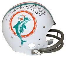 Bob Griese Autographed/Signed Miami Dolphins TK Helmet 3 Insc JSA 25465