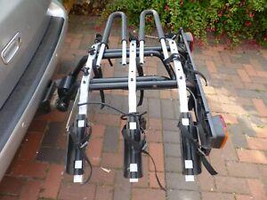 Thule 3 bike tow bar mounted carrier