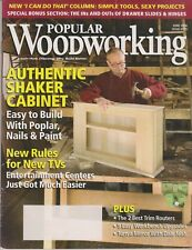 Popular Woodworking June 2006 Authentic Shaker Cabinet - Easy to Build With Popu