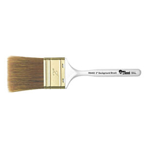 "Bob Ross Oil Painting Brush - 2"" Landscape Background Brush - FREE POSTAGE"
