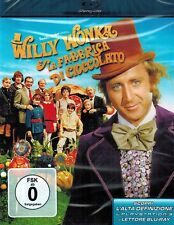 BLU-RAY NEU/OVP - Charlie (Willy Wonka) und die Schokoladenfabrik - Gene Wilder