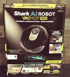 Shark AI VACMOP Pro Robot Vacuum and Mop RV2001WD New/SEALED FAST S&H