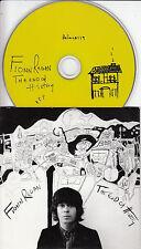 FIONN REGAN The End Of History 2006 UK 12-track promo CD Bella Union