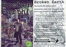 "Broken Earth RPG promotional Card 4""x6"" (x2)"