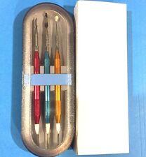 Dental Ceramic Wax Sculpturing Tool Set Of 3 Instruments + 3 Tips