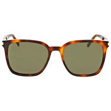 Yves Saint Laurent Havana Square Sunglasses