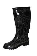 NEU Beck Damenschuhe EU 41 Gummistiefel Stiefel Regenstiefel Boots Schwarz