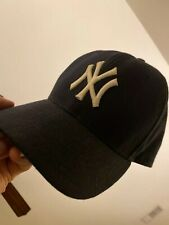 AUTHENTIC NY YANKEES HAT CAP SZ 7 3/8 FITTED New Era MLB OFFICIAL 59FIFTY 5950
