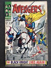 Avengers #48 1st Black Knight Dane Whitman 1968 Kit Harington Eternals MOVIE🔥🔥