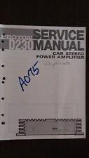 Proton d230 service manual repair book original car stereo power amp amplifier