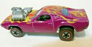 Hot Wheels Rodger Dodger Mattel 1974 Issue Purple with Graphics VG+ Cond