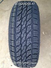 1 X 265/65R17 INCH THREE-A TYRE ECOLANDER 110T FREE DELIVERY in selected areas